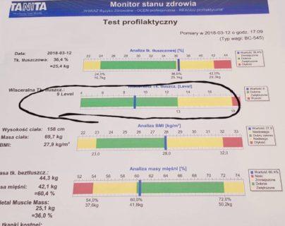 analiza poziomu tłuszczu