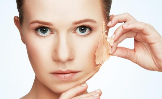 Zabiegi złuszczające skórę